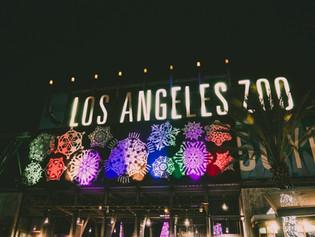 Jolene goes to the LA Zoo Lights