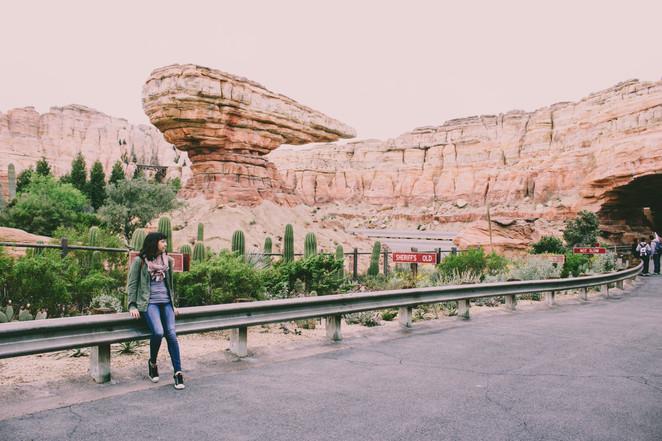 Jolene goes to Disney California Adventure Park