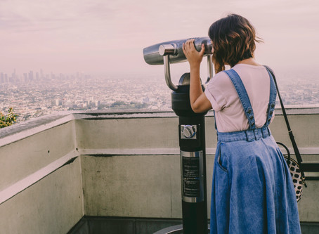 Jolene goes to Griffith Observatory: A Mental Health Day