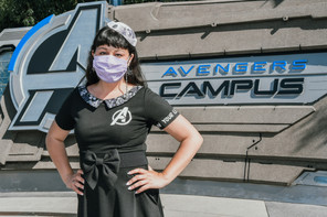 Jolene goes to Avengers Campus Opening Day