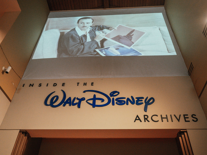 Jolene goes inside the disney archives at the bowers museum