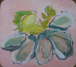 #Oesters 15x15 cm