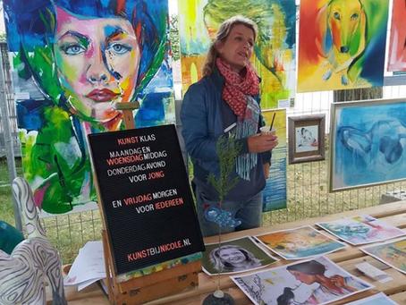 Gratis pilot Kunstklas op 'Montmartre Zandoers' 23 juni