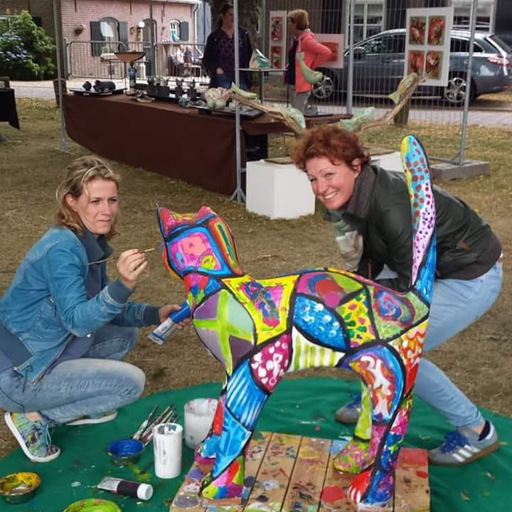 Kunstkat kunstmarkt