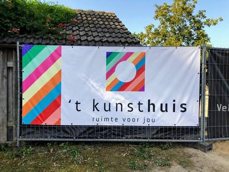 Bouw 't kunsthuis van start!!