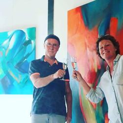 Opening Expositie met Jos van der Donk