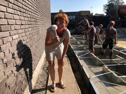 muur van buurman schoonmaken