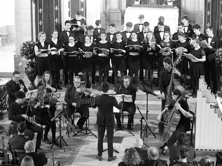 Concert du 29 mai 2019, une expérience enrichissante pour un jeune chœur