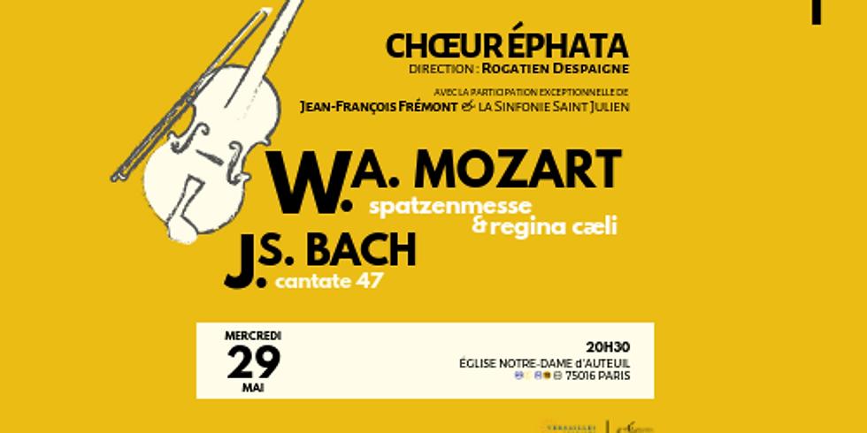 Bach & Mozart à Paris (16ème)