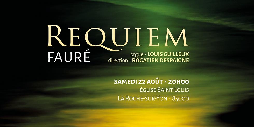 Requiem de Fauré à La Roche-sur-Yon