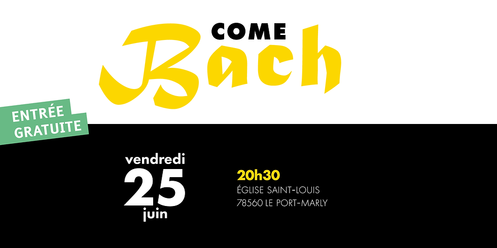 Come Bach - Port-Marly