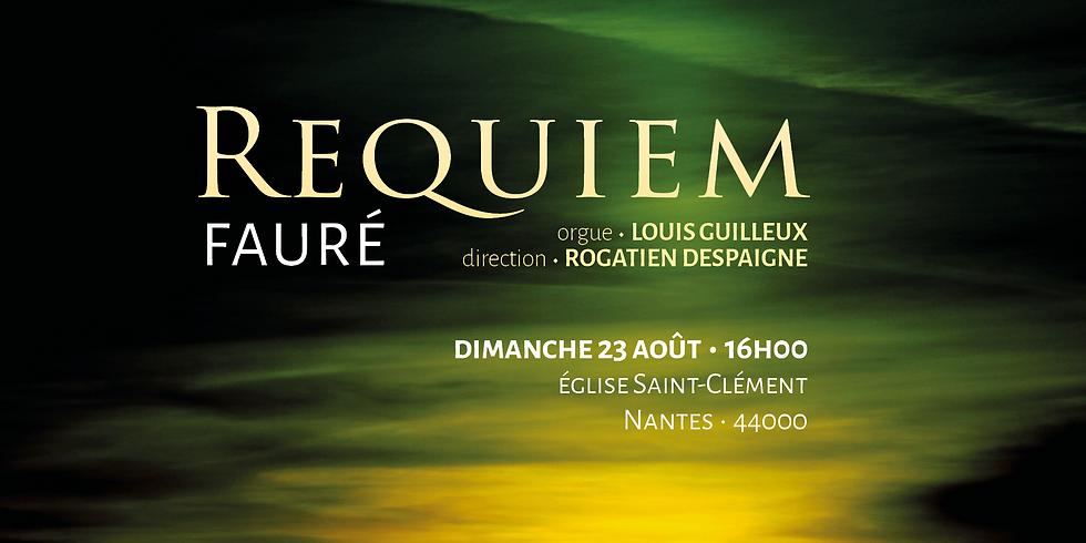 Requiem de Fauré à Nantes