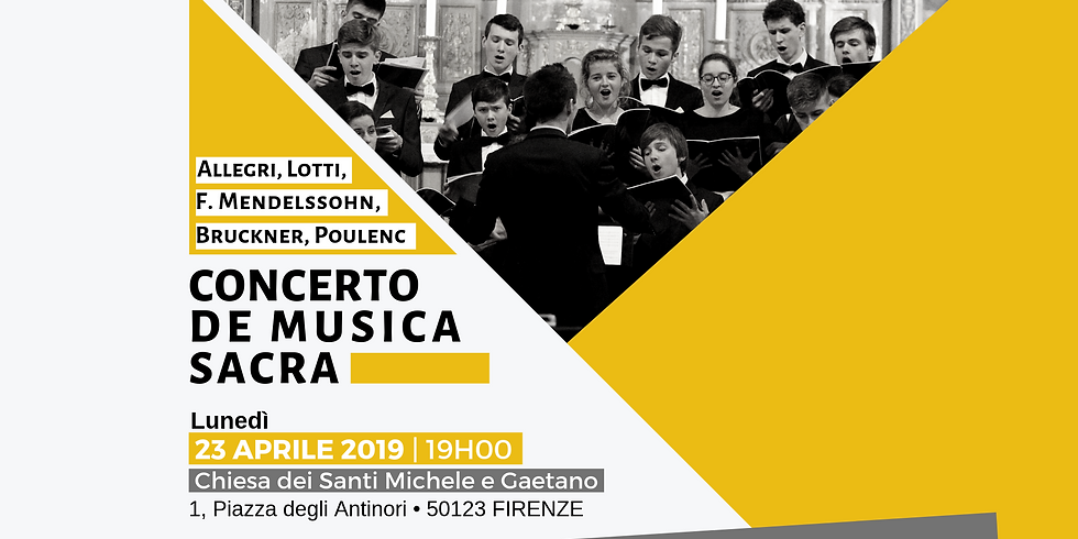 Concert du Chœur Éphata à Florence