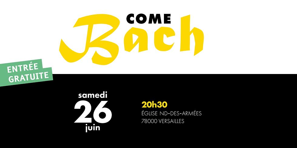 Come Bach - Versailles