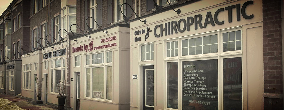 Dr. Amini Chiropractor in Milton