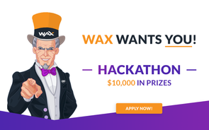 WAX Hackathon at CGC Kyiv 2019