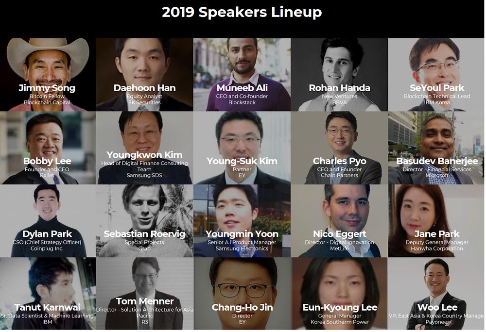 Techfin Asia 2019 Lineup