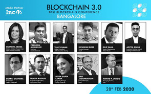 Blockchain 3.0 Conference Focusing on BFSI coming up in Bangalore
