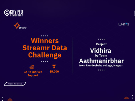 Streamr Data Challenge Drives The Paradigm Shift Towards The Web3 Wave In Data Economy Among The Ind
