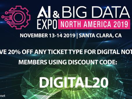 AI & Big Data Expo North America 2019 | 13-14 Nov