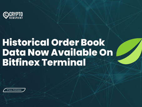 Historical Order Book Data Now Available On Bitfinex Terminal