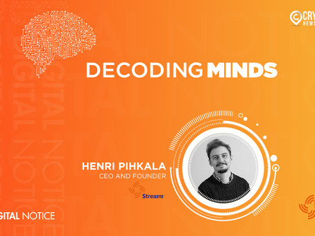 DECODING MINDS – An Interview With Henri Pihkala, CEO and Founder, Streamr