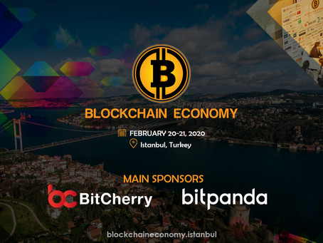 BLOCKCHAIN ECONOMY CONFERENCE IS ABOUT TO BEGIN!