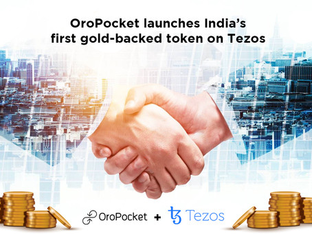 OroPocket launches India's first gold-backed token on Tezos