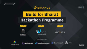 Binance Announces The Winners Of Build For Bharat Program In India