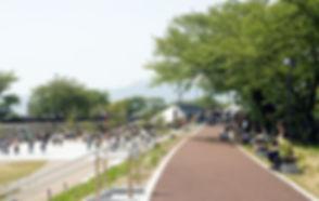 草津川跡地公園完成後イメージ