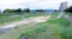 草津川跡地公園着工前イメージ