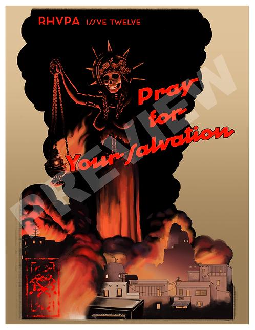 Rhupa Propaganda Poster - Pray For Your Salvation