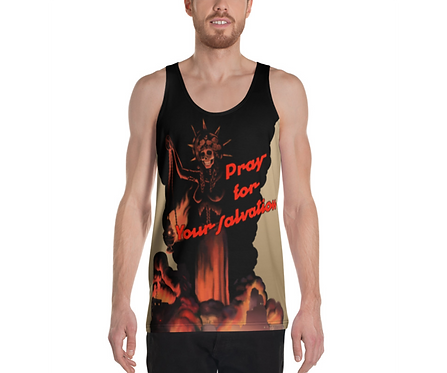 "Rhupa ""Pray For Your Salvation"" Men's Tank"