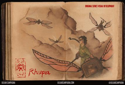 Visual Development - Rhupa