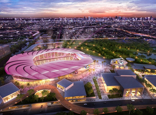 El grupo Beckham presenta el nuevo estadio en Miami ● Beckham's group unveils new Miami stadium