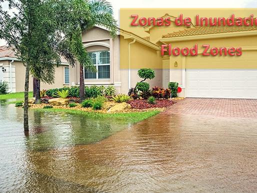 Zonas de Inundación ● Flood Zones