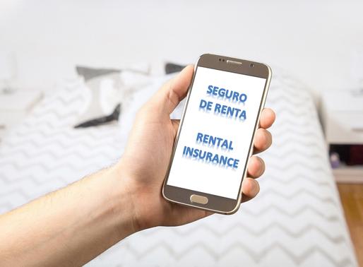 Seguro de Renta ● Rental Insurance
