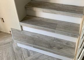 Herringbone Layed Tile