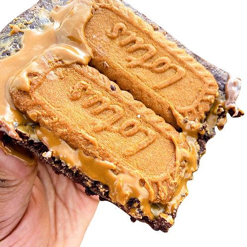 Lotus Biscoff Brownies