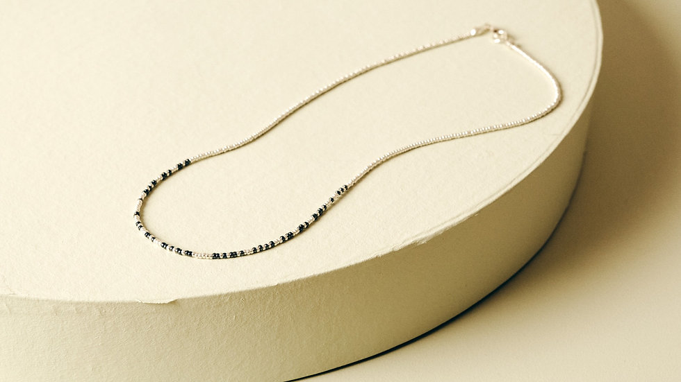 Make Tiny Changes | Morse Code Necklace
