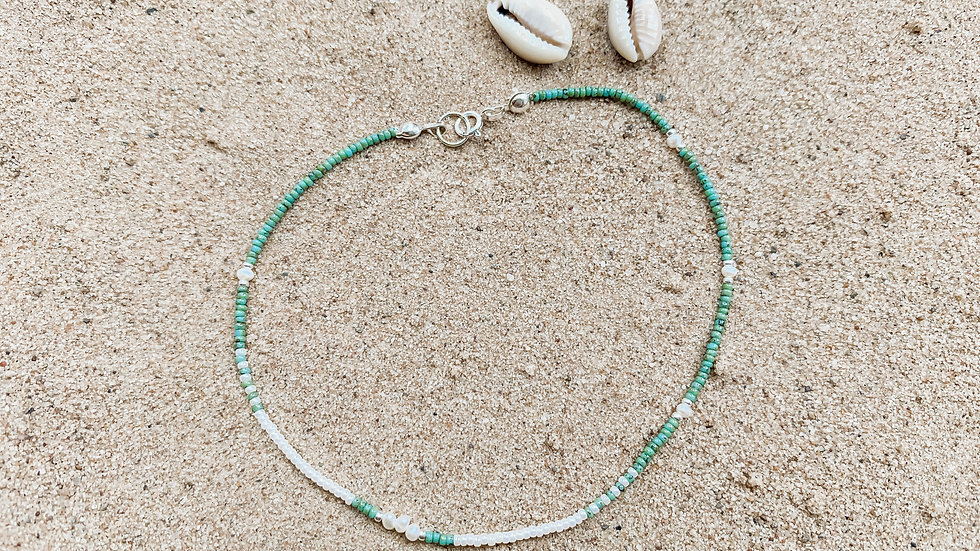 The Scatter Pearl Anklet
