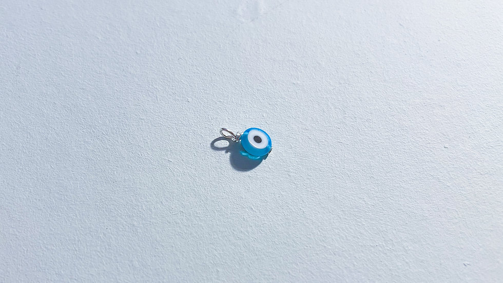 Glass Evil Eye Pendant