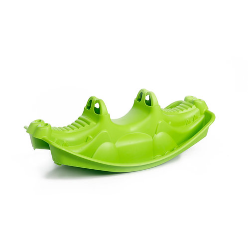 Τραμπάλα πλαστική Κροκόδειλος Moni