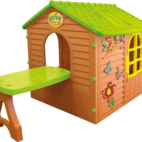 Σπιτάκι Κήπου με Τραπέζι Mochtoys 11045