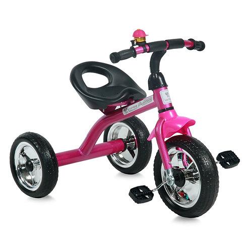 Τρίκυκλο Ποδηλατάκι Lorelli Bertoni A28 ροζ