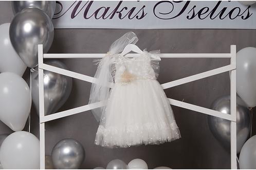 Βαπτιστικό Σετ για Κορίτσι Makis Tselios 5029