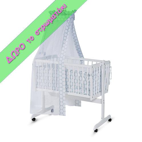 Λίκνο - Κούνια μωρού Lorelli Bertoni EVA + Δώρο Στρώμα