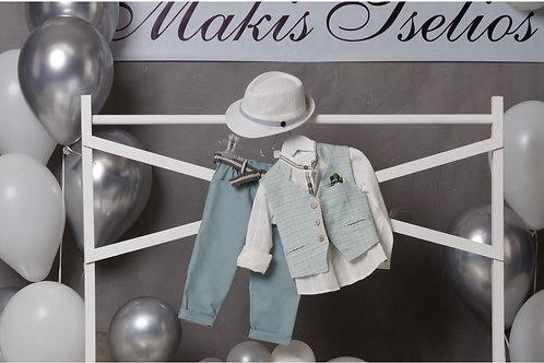 Βαπτιστικό Σετ για Αγόρι Makis Tselios 5043