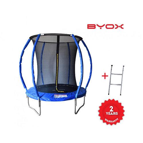 Τραμπολίνο Byox με Δίχτυ και Σκάλα 183cm