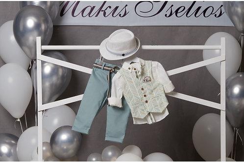 Βαπτιστικό Σετ για  Αγόρι Makis Tselios 5051